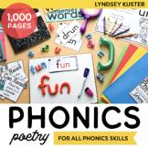 Hands-On Phonics Poetry Bundle