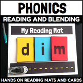 Hands On Phonics Reading and Blending Mats