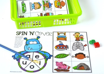 Hands-On Phonics ~ Short Vowels