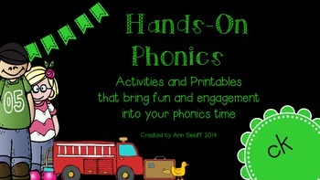 Hands On Phonics: The ck sound