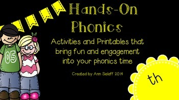 Hands On Phonics: th sound