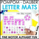 Hands-On Pompom and Dauber Alphabet Centers