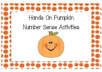 Hands On Pumpkin Math Activities