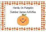 Reggio Pumpkin Math Activities