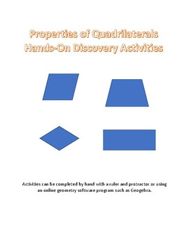 Hands On Quadrilateral Unit