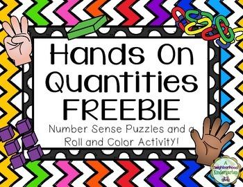 Hands On Quantities FREEBIE