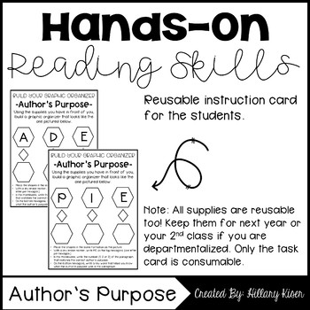Hands-On Reading: Author's Purpose