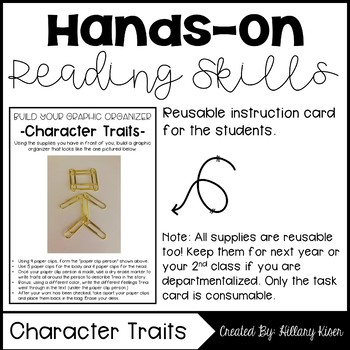 Hands-On Reading: Character Traits