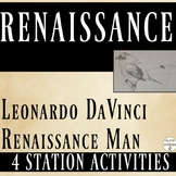 Renaissance 4 Station Activities with Renaissance Man DaVi