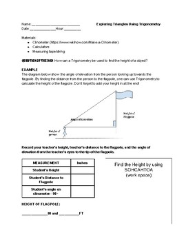 Hands-On Right Triangle Trigonometry