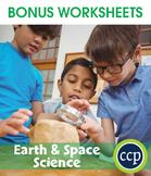 Hands-On STEAM - Earth & Space Science Gr. 1-5 - BONUS WORKSHEETS