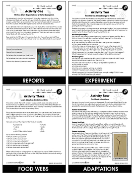 Hands-On STEAM - Life Science Gr. 1-5 - BONUS WORKSHEETS