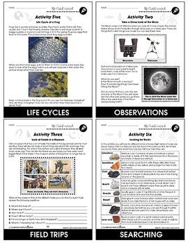 Hands-On STEAM Science Gr. 1-5 - BONUS WORKSHEETS