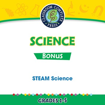 Hands-On STEAM Science Gr. 1-5 - BONUS WORKSHEETS