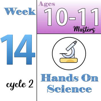 Hands-On Science, CC Cycle 2, week 14 (ages 10-11), Classical Conversations