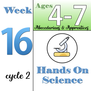Hands-On Science, CC Cycle 2, week 16 (ages 4-7), Classical Conversations