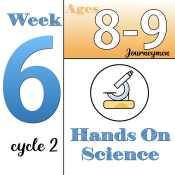 Hands-On Science, CC Cycle 2, week 6 (ages 8&9) Classical Conversations