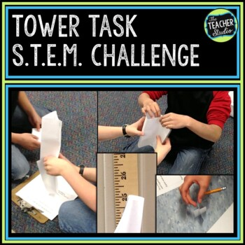 Hands On Science STEM Investigation:  Tower Teamwork