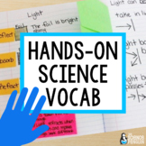 Science Vocabulary Hands-On Instruction