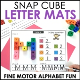 Hands-On Snap Cube Alphabet Centers