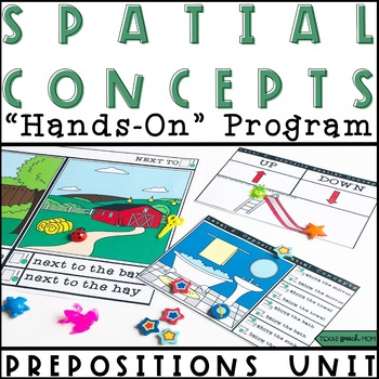 Spatial Concepts: Prepositions Speech and Language Therapy