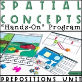 Spatial Concepts Speech Therapy Activities: Teaching Prepositions Program