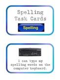 Hands-On Spelling Task Cards Center