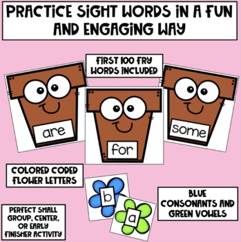 Hands On Spring Sight Words
