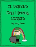 Hands-On St. Patrick's Day Literacy Centers {Includes 6 Activities}