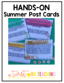 Hands-On Summer Post Cards