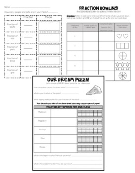 Hands-On Supplemental Fraction Activities