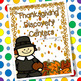 Thanksgiving Center Activities for Letters and Numbers