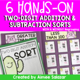 Two Digit Addition and Subtraction Sorts
