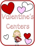 Hands-On Valentine's Literacy Centers {Includes 12 Center Activities}