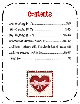 Hands-On Valentine's Math Centers {6 Activities}