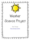 Hands-On Weather Science Project with Rubric