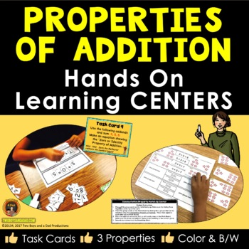 Properties of Addition Hands On Centers