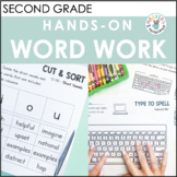 Hands-On Word Work Activities (Benchmark Advance, Second G
