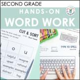 Hands-On Word Work Activities Bundle (Benchmark Advance, 2nd Grade, Units 1-10)