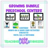 Hands On & Digital Preschool Centers *Growing Bundle*   Boom Cards