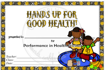 Hands Up for Good Health