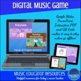 Hands and Finger Numbers BUNDLE | Interactive Digital Music Game