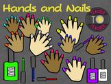 Hands and Nails {TeacherToTeacher Clipart}
