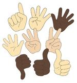 Hands clipart