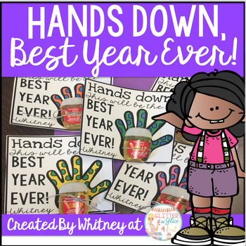 Back to School Gift Tags-Hands down, Best Year Ever!
