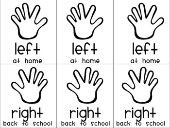 Hands for take home folders