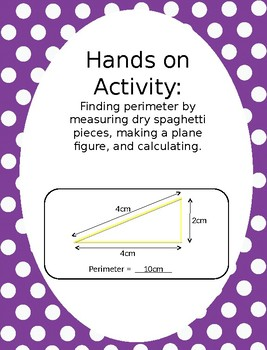 Hands on Activity - Measure and Calculate Perimeter