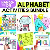 Hands On Alphabet Activities and Printables   HUGE BUNDLE
