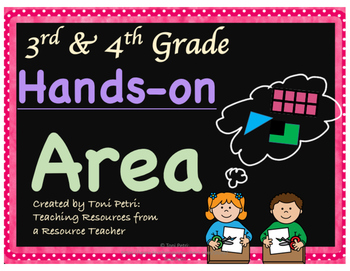 Area Hands-On for 3rd and 4th Graders