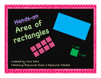 Hands-on Area of Rectangles